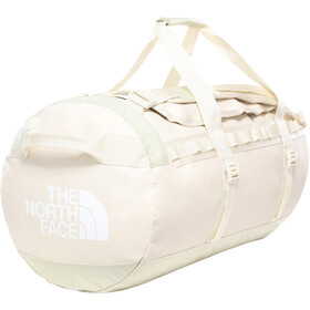 The North Face Base Camp Duffelilaukku M, vintage white/tnf white